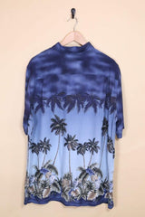 Loot Vintage Shirt Vintage Palm Tree Hawaiian Shirt