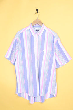 Loot Vintage Shirt Vintage Pastel Striped Shirt