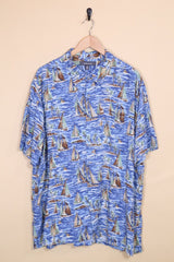 Loot Vintage Shirt Vintage Sail Away Hawaiian Shirt