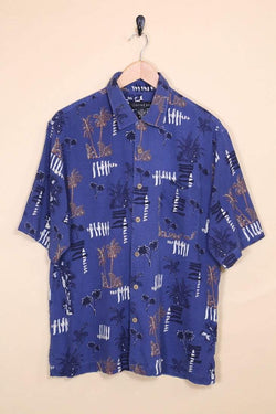 Loot Vintage Shirt Vintage Tropical Hawaiian Shirt