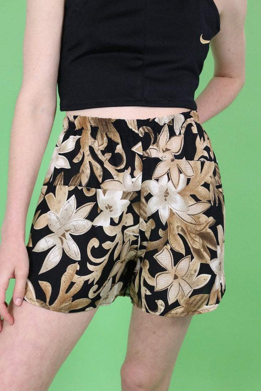 Loot Vintage Shorts Vintage Reworked Patterned Shorts