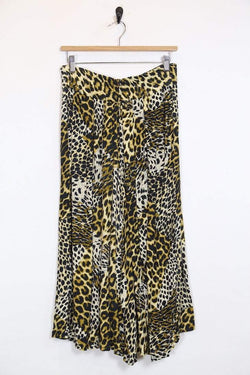 Loot Vintage Skirt *Women's Leopard Print Skirt
