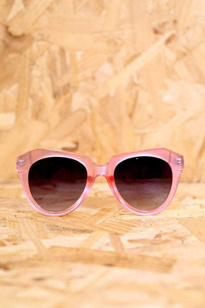 Women's Chunky Cat Eye Sunglasses - Pink - Loot Vintage