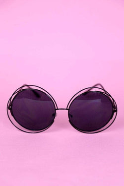 Loot Vintage Sunglasses Circular Sunglasses