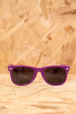 Loot Vintage Sunglasses Purple Wayfarer Sunglasses
