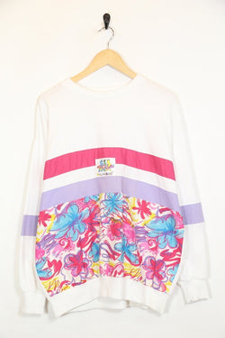 Loot Vintage Sweatshirt M / white / polyester Womens Walkabout Sweatshirt - White M