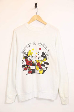 Women's Disney Sweatshirt - White L