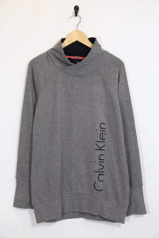 Women's Calvin Klein Sweatshirt - Grey L