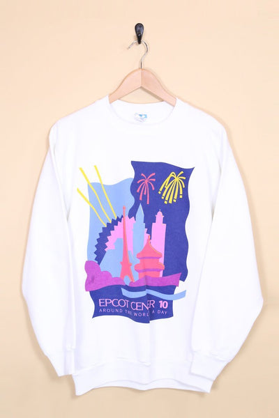 Loot Vintage Sweatshirt Vintage Epcot Center Sweatshirt