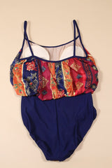 Loot Vintage Swimsuit Shaping Printed Swimsuit