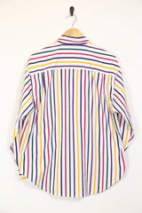 Women's Striped Shirt - Multi M