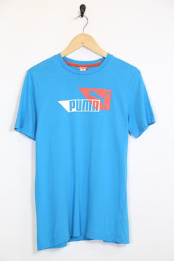 2000s Men's Puma T-Shirt - Blue XS