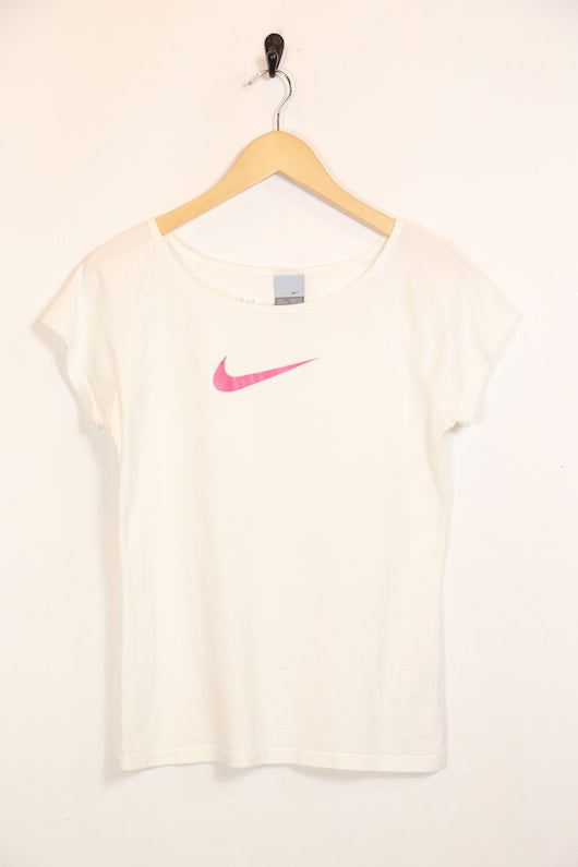 Loot Vintage T-Shirt S / White / Cotton *Women's Nike T-Shirt - White S