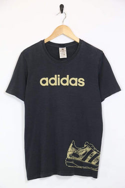 Loot Vintage Men's Adidas T-Shirt - Black M