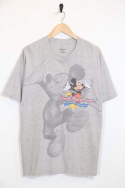 Men's Disney T-Shirt - Grey XL