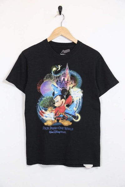 2000s Women's Disney T-Shirt - Black S