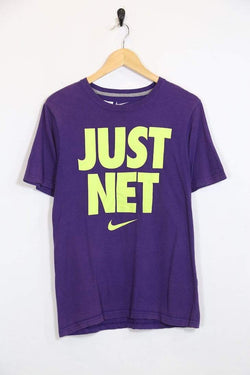 2000s Women's Nike T-Shirt - Purple S