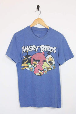 Loot Vintage T-Shirt Vintage Angry Birds Tee