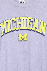 Loot Vintage T-Shirt Vintage Grey Michigan T-shirt