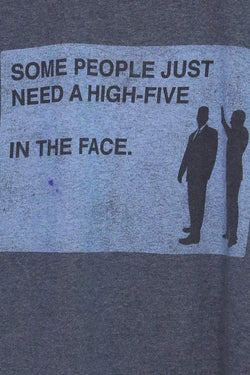 Loot Vintage T-Shirt Vintage 'High Five In The Face' Graphic Tee