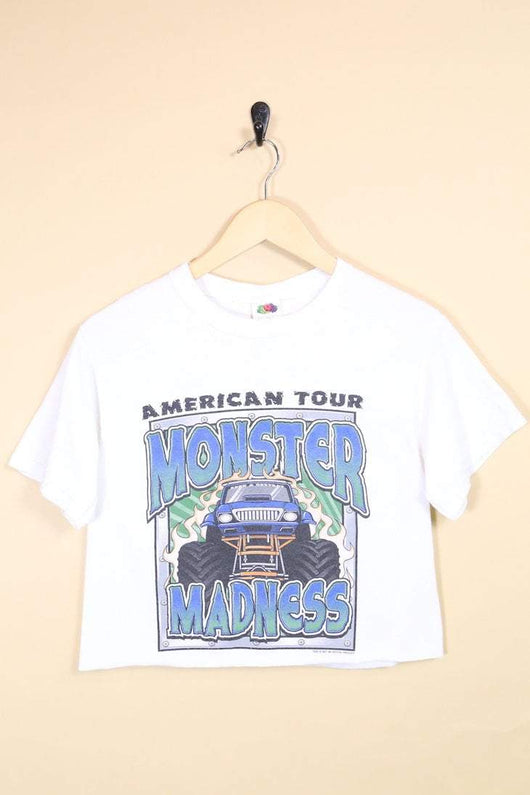 Loot Vintage T-Shirt Vintage Reworked Monster Cropped Tee