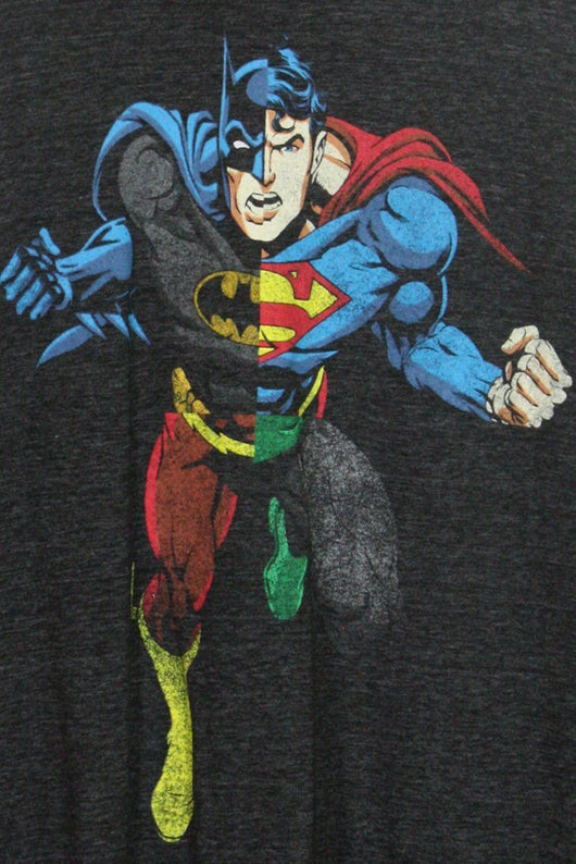 Loot Vintage T-Shirt Vintage Superman V Batman Tee