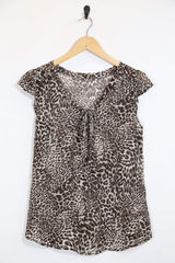 Loot Vintage Top *Women's Leopard Print Top