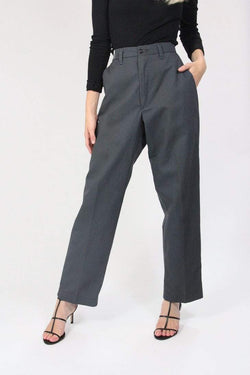 Loot Vintage Trousers 10 / grey Vintage Relaxed Boyfriend Chino