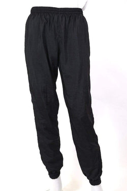 Loot Vintage Trousers M / black / nylon Men's Track Pants - Black M