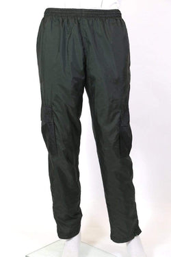 Loot Vintage Trousers M / Green / nylon Men's Track Cargo Pants - Green M