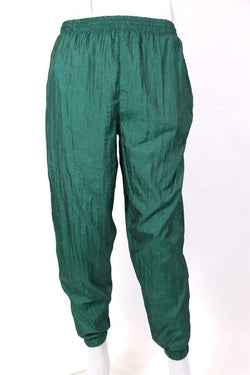 Loot Vintage Trousers M / Green / nylon Men's Track Pants - Green M