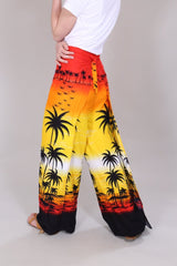 Loot Vintage Trousers Retro Tropical Trousers