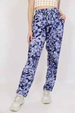 Loot Vintage Trousers Vintage Floral Patterned Trousers