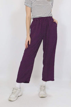 Loot Vintage Trousers Vintage Polka Dot Trousers