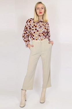 Loot Vintage Trousers Vintage Straight Leg Trousers
