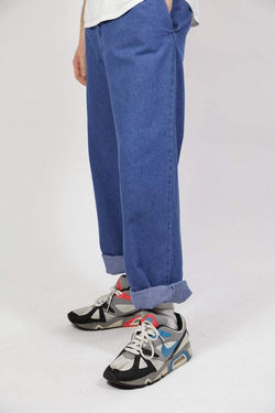 Loot Vintage Trousers Vintage Wide Leg Denim Jeans