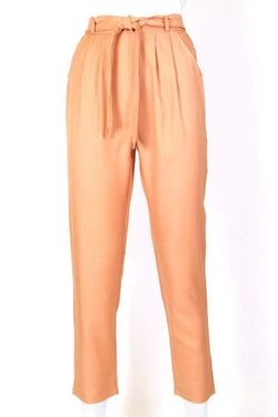 Women's High Rise Trousers - Orange XS