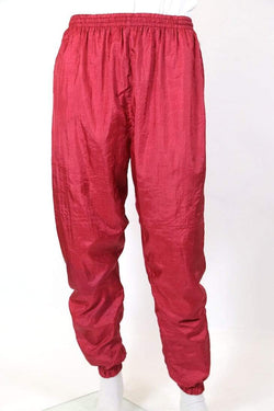 Loot Vintage Trousers XL / Red / nylon Men's Track Pants - Red XL