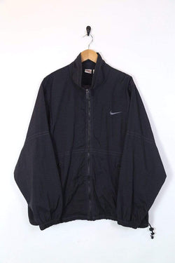 Loot Vintage UPLOAD Men's Nike Jacket - Black XL