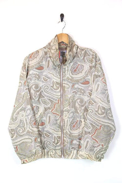 Loot Vintage UPLOAD Women's Patterned Windbreaker - Multi S