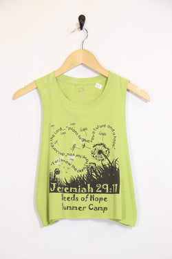 2000s Women's Reworked Sleeveless Vest - Green S