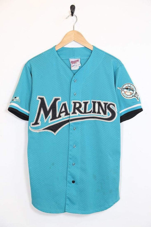 Majestic Top Vintage Marlins Sports Jersey