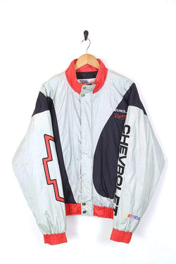 Nascar Jacket UPLOAD Men's Nascar Racing Jacket - Grey L