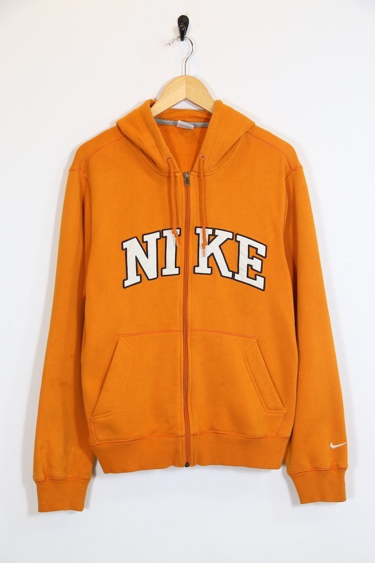 special section biggest discount cheap Men's Nike Zip Hoodie - Orange M