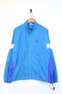 Nike Jacket Men's Nike Windbreaker Jacket - Blue XL