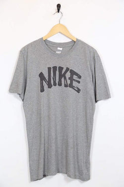 Nike T-Shirt M / Grey / Cotton Men's Nike T-Shirt - Grey M