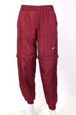 Nike Trousers XL / Red / nylon Men's Nike Track Pants - Red XL