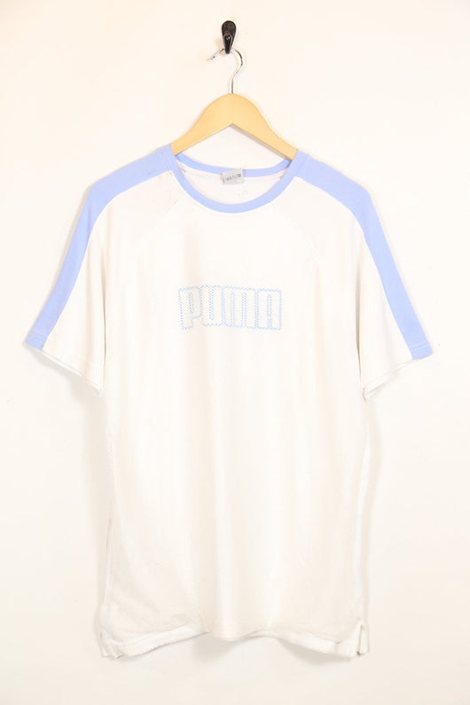 Puma T-Shirt L / White / Cotton Men's Puma T-Shirt - White L