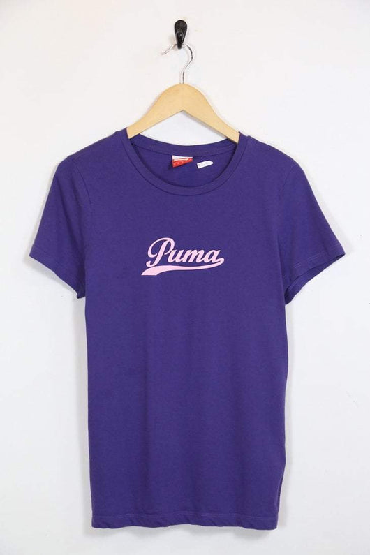 Puma T-Shirt M / Purple / Cotton Women's Puma T-Shirt - Purple M