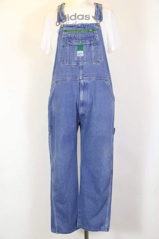 Men's Denim Dungarees - Blue XL